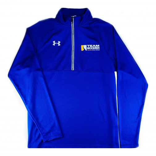 Team Boomer quarter zip